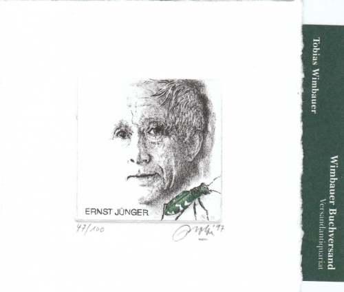 Portrait Ernst Jünger 1997. | (c) 2008 für dieses Photo by T.Wimbauer