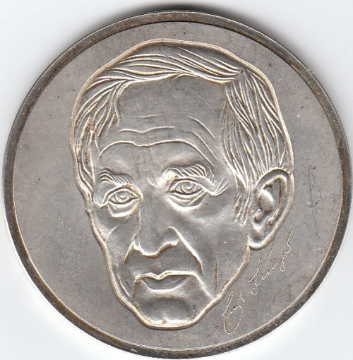 Ernst Jünger Portrait-Münze