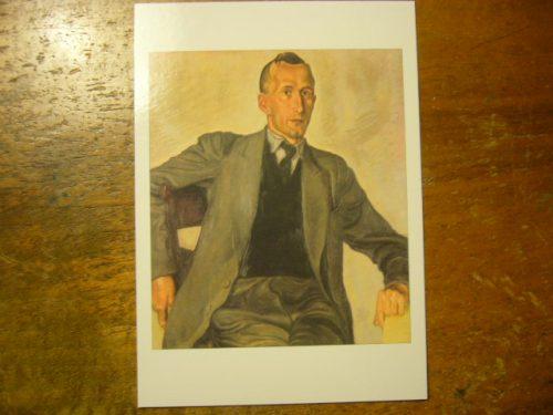 EJ auf dem Brümmerhof, um 1935 (Photo der Postkarte auf Schreibtisch (c) TW