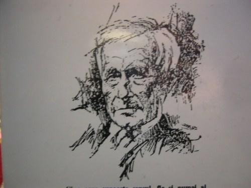 rumänisches Portrait Ernst Jünger, Photo (c) T. Wimbauer