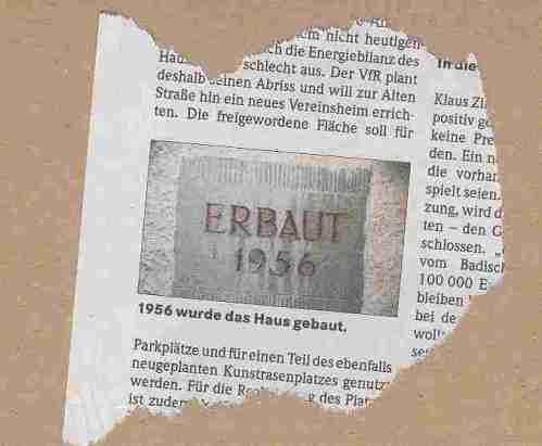 """""""Badische Zeitung"""" (Freiburg) vom 27. März 2009"""