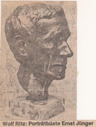 Wolf Ritz : Ernst Jünger