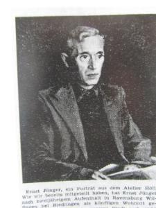 Werner Höll: Ernst Jünger