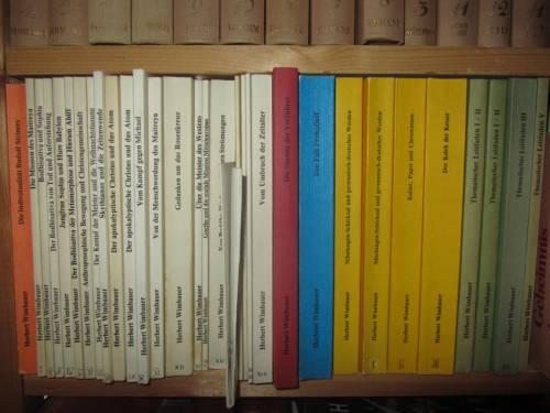 Papas Bücher