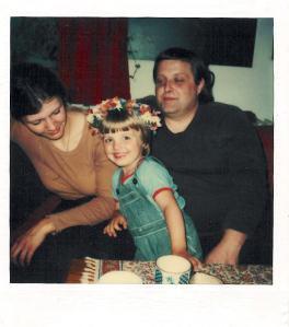 Mit meiner Mutter und mir als kleinem Bub, Ende der 1970er Jahre in St. Ulrich