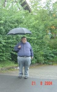 Papa, Sommer 2004 in Gersfeld in der Rhön
